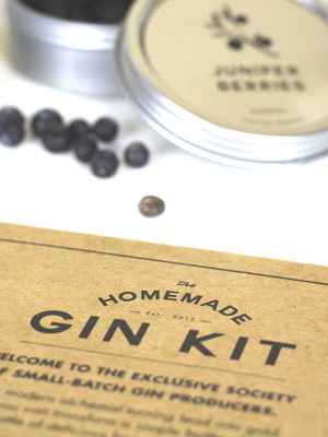 The Homemade Gin Kit W&P Design