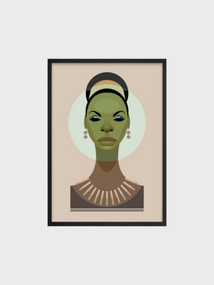 Nina Simone Stanley Chow Posters