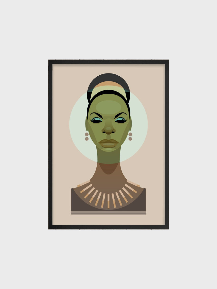 Poster - Nina Simone - The Great Diggers