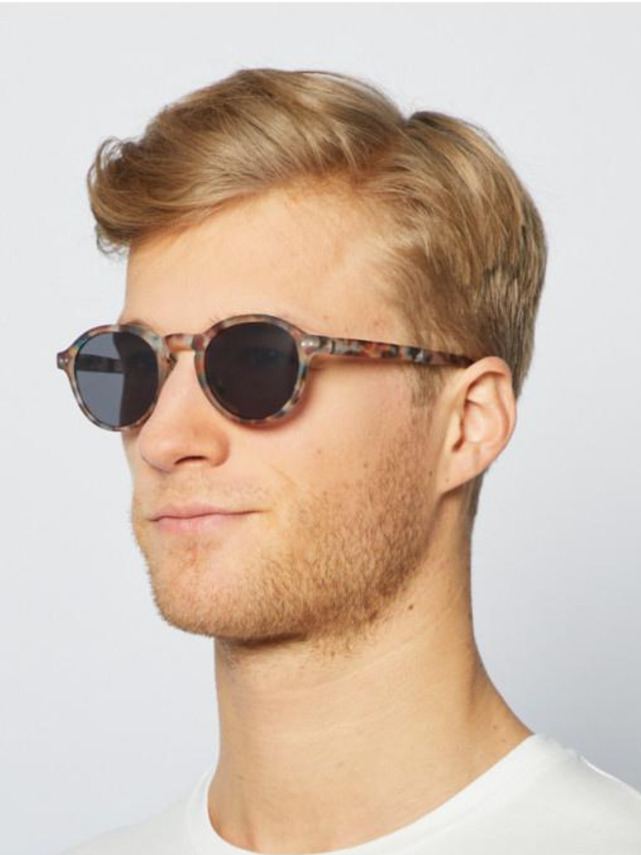 #F Blue Tortoise Sunglasses - The Great Diggers