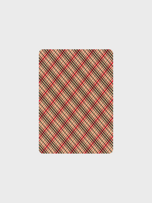 Dan and Dave Vintage Plaid Playing Cards The Great Diggers Hong Kong 香港