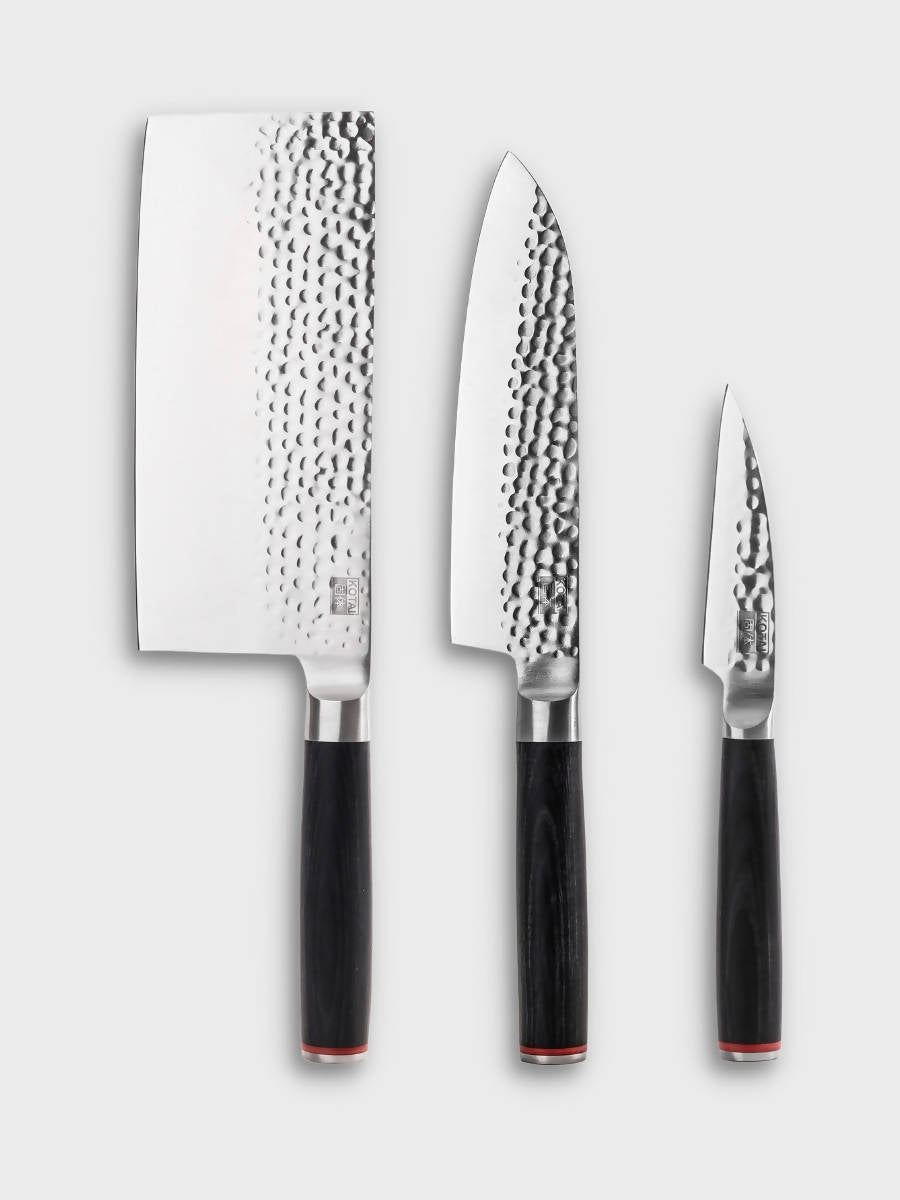 The Asian - Set of 3 Knives - The Great Diggers