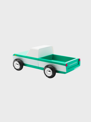 Awesome Wood Cars - Longhorn Green - The Great Diggers