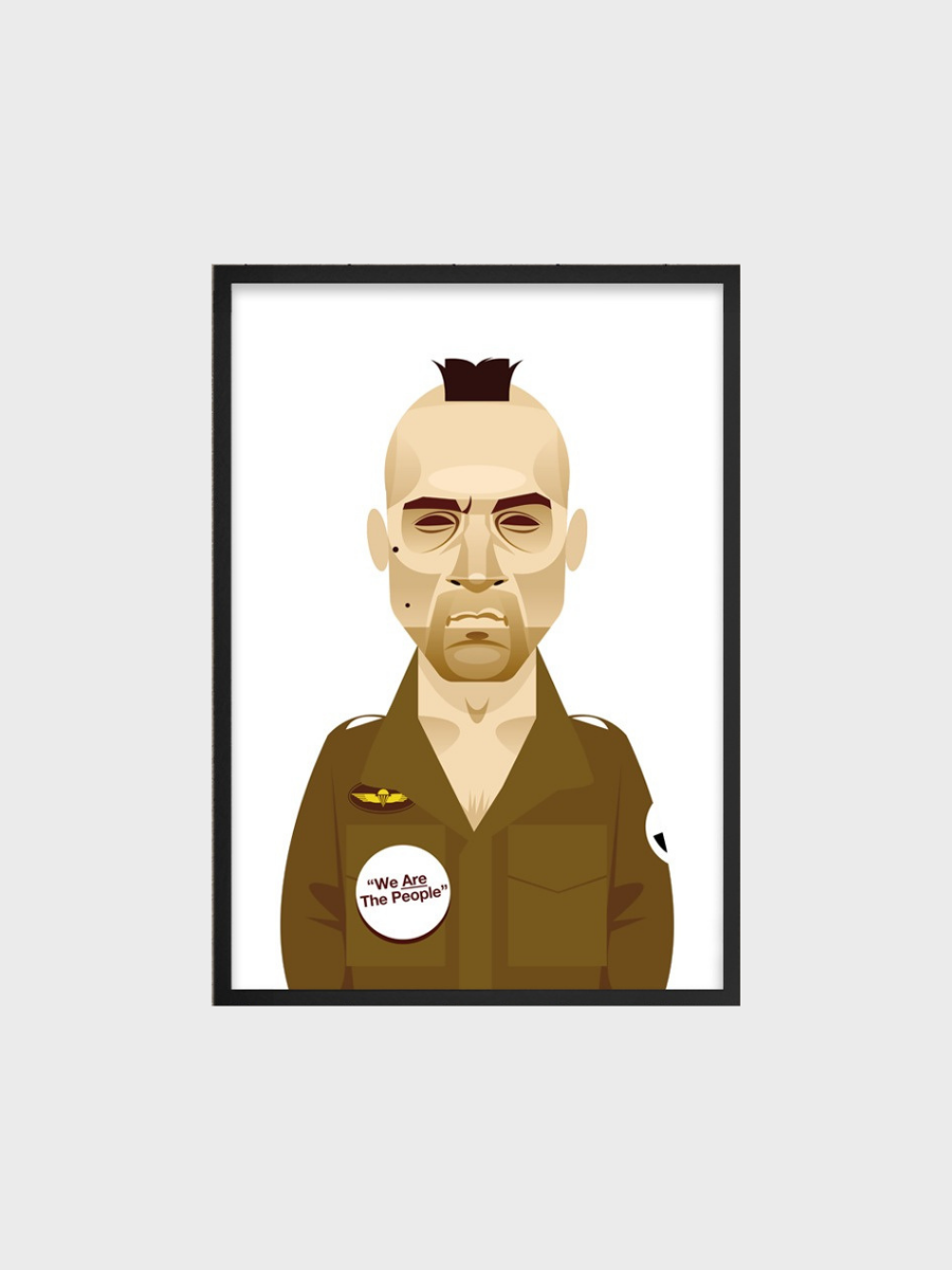 Taxi driver Robert De Niro Are you talking to me? Stanley Chow Posters