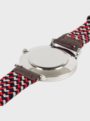 Braided Watch Strap Navy Billy Belt The Great Diggers
