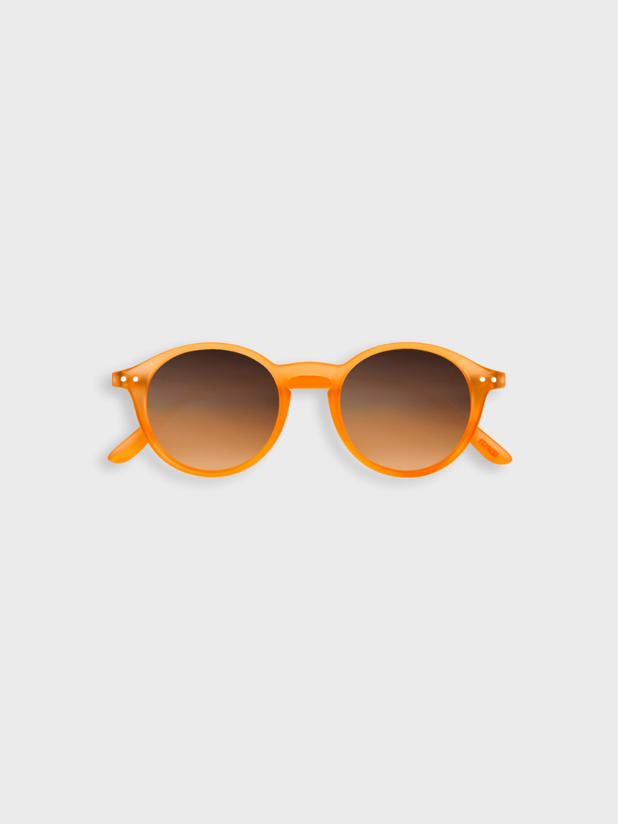 #D SUN - Sunglasses Orange Flash Izipizi The Great Diggers