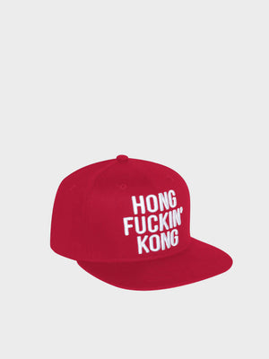 Hong Fucking Kong cap Daniel Jonas Red
