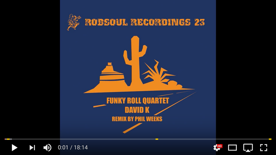 David K – Funky Roll Quartet