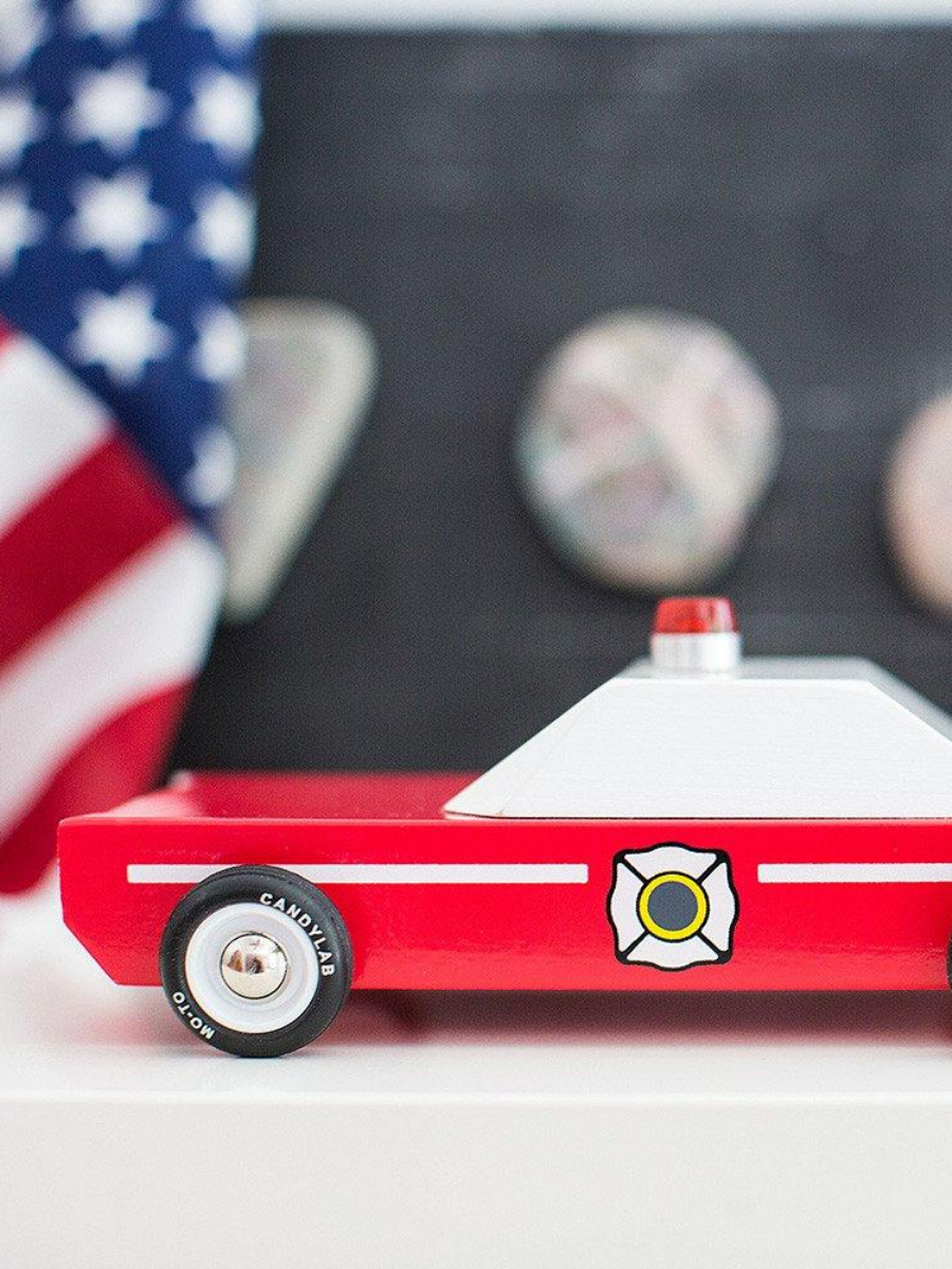 Awesome Wood Cars - Firechief - The Great Diggers