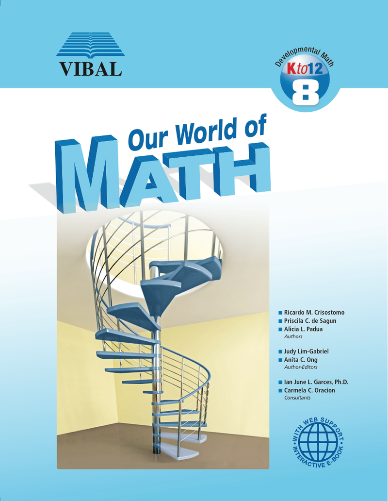 Our World of Math Grade 8
