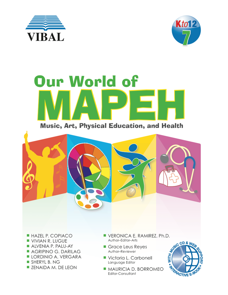 Our World of Mapeh Grade 7