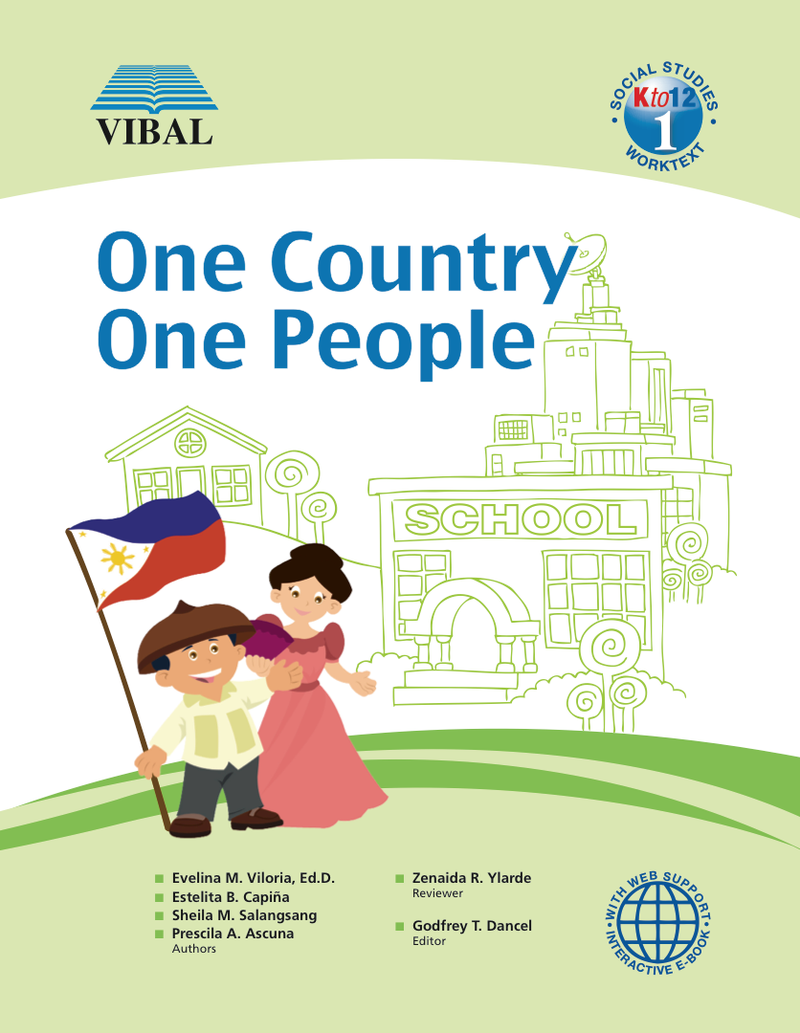 One Country, One People K-12 Grade 1