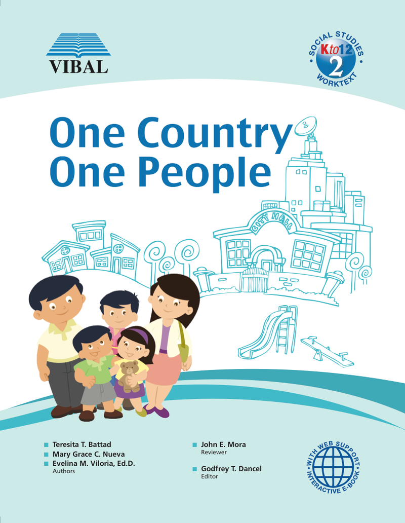 One Country, One People K-12 Grade 2