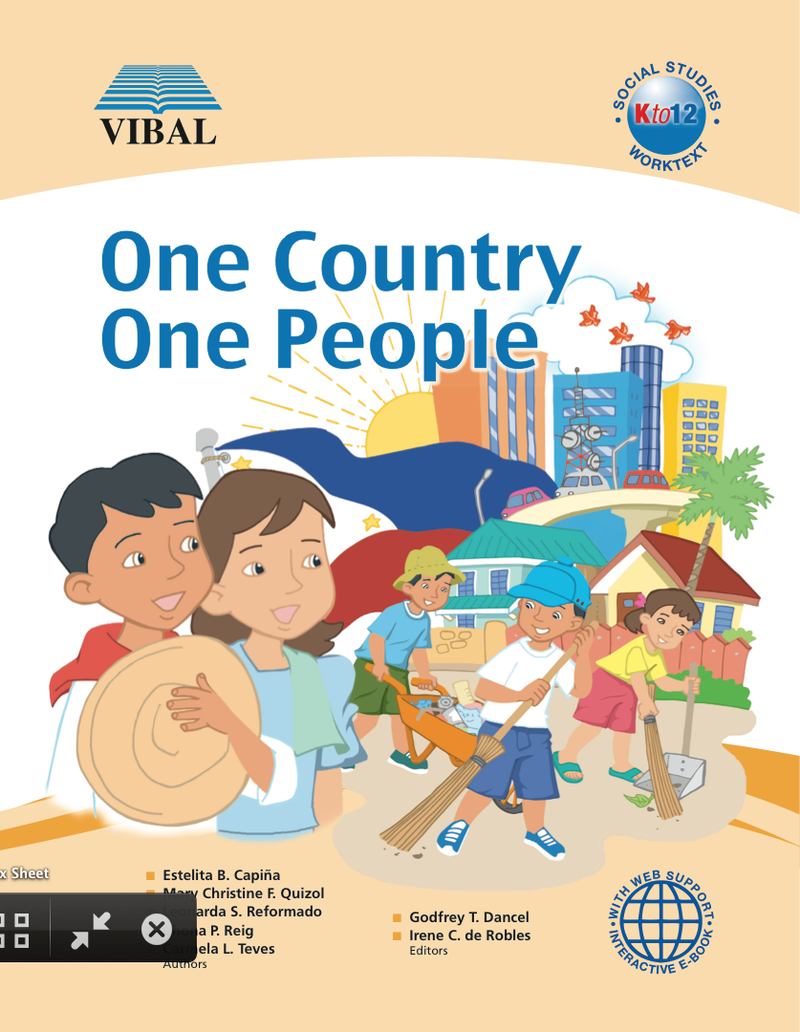 One Country, One People K-12 Grade 3