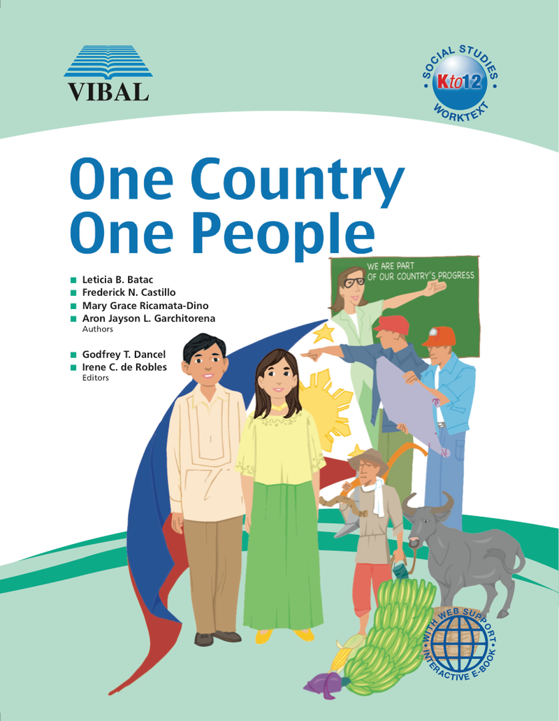 One Country, One People K-12 Grade 4