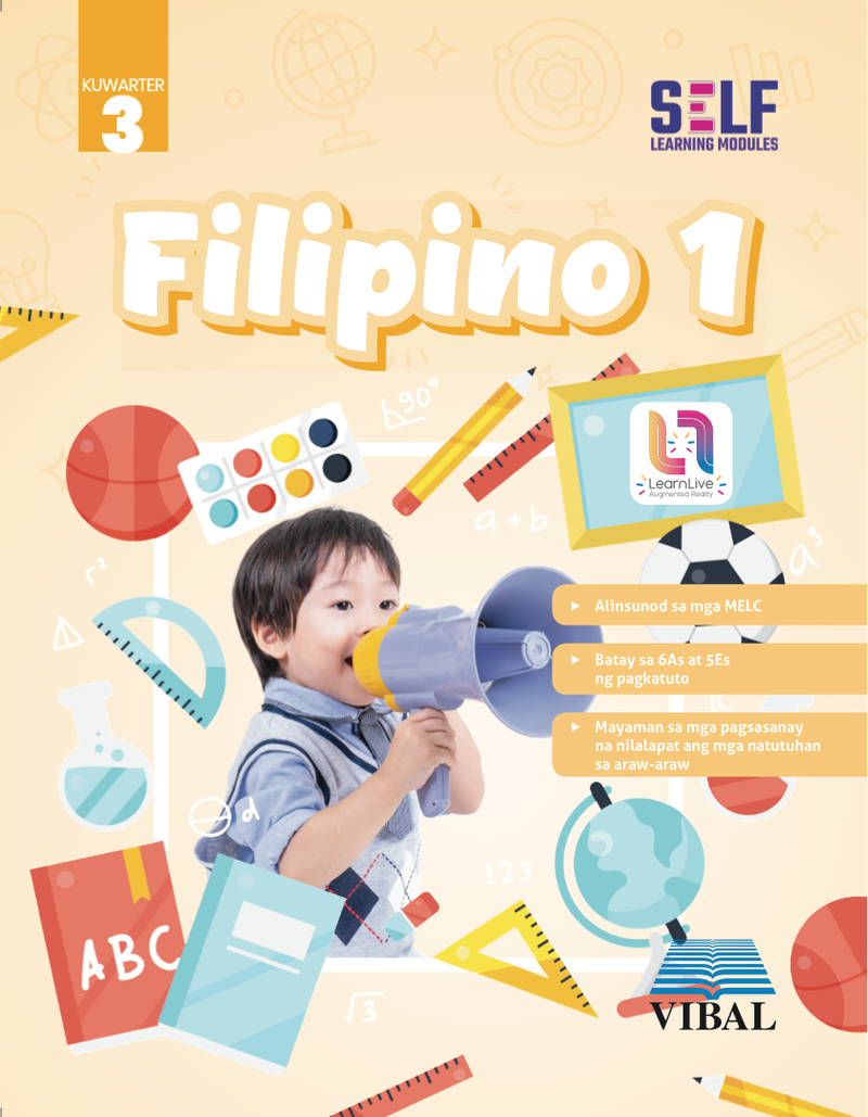 Self-Learning Modules: Filipino Grade 1 (Quarter 3)