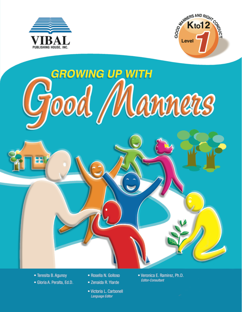 Growing up with Good Manners K-12 Grade 1