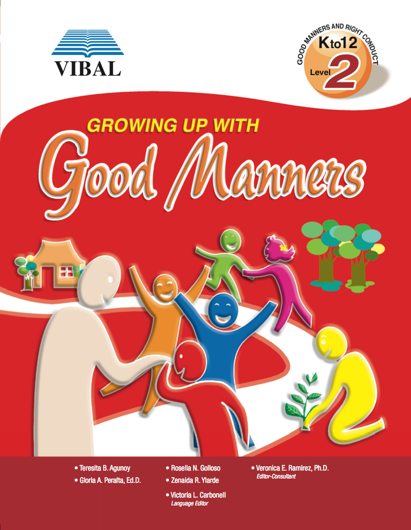 Growing up with Good Manners K-12 Grade 2