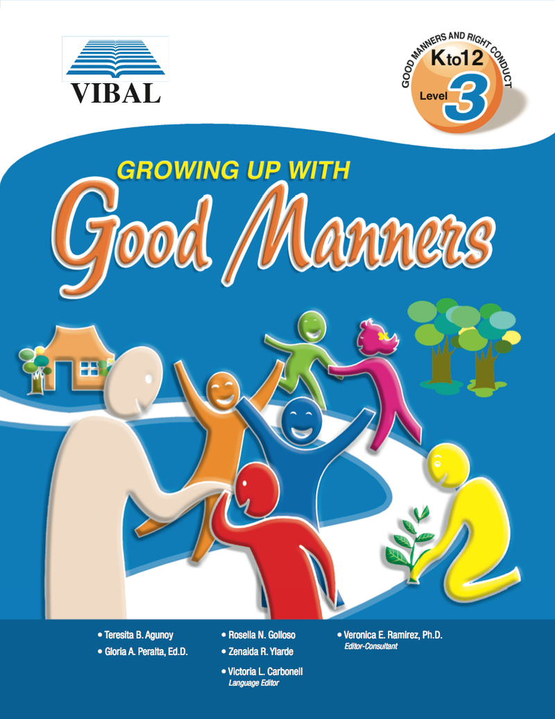 Growing up with Good Manners K-12 Grade 3