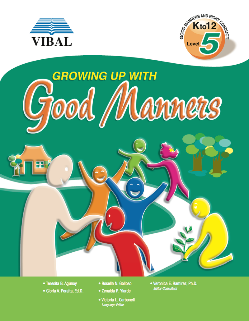 Growing up with Good Manners K-12 Grade 5