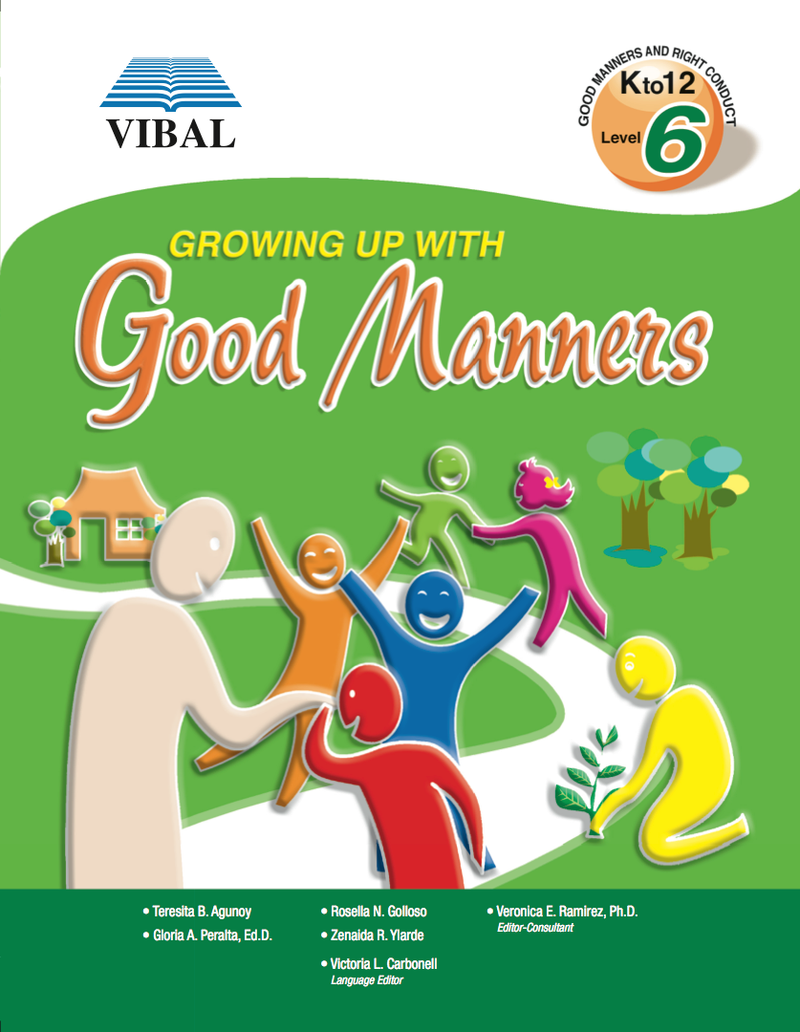 Growing up with Good Manners K-12 Grade 6
