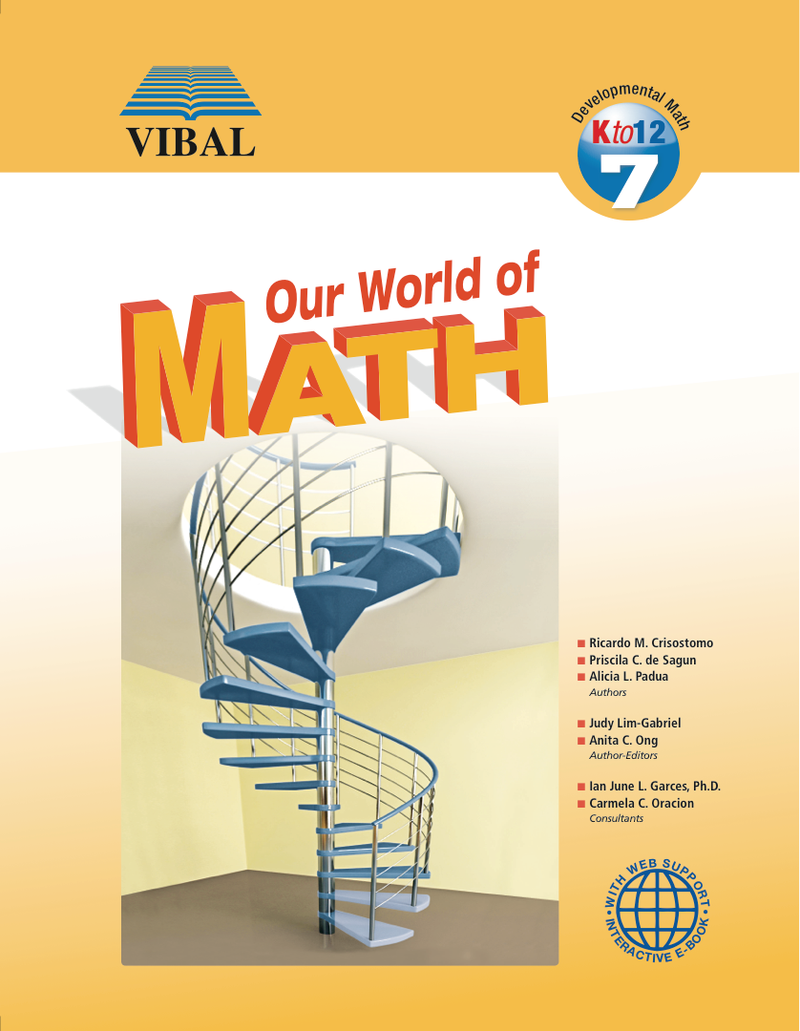 Our World of Math K-12 Grade 7