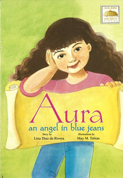 Aura, an Angel in Blue Jeans