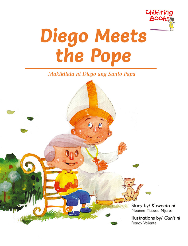 Diego Meets The Pope