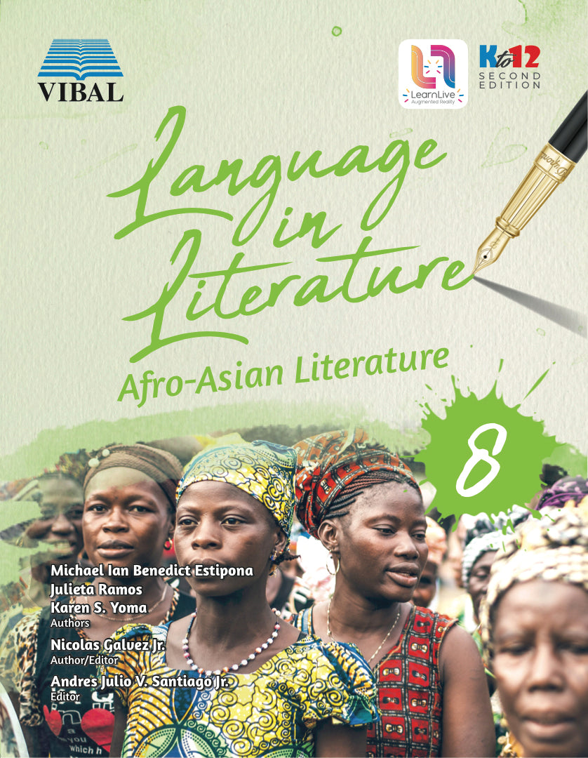 Language in Literature : Afro-Asian Literature Grade 8 (2nd Ed.) (English)
