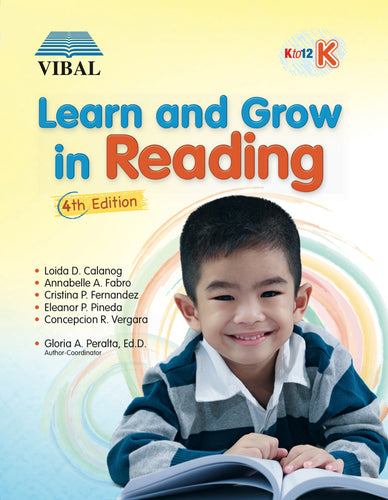 Learn and Grow in Reading K (English)