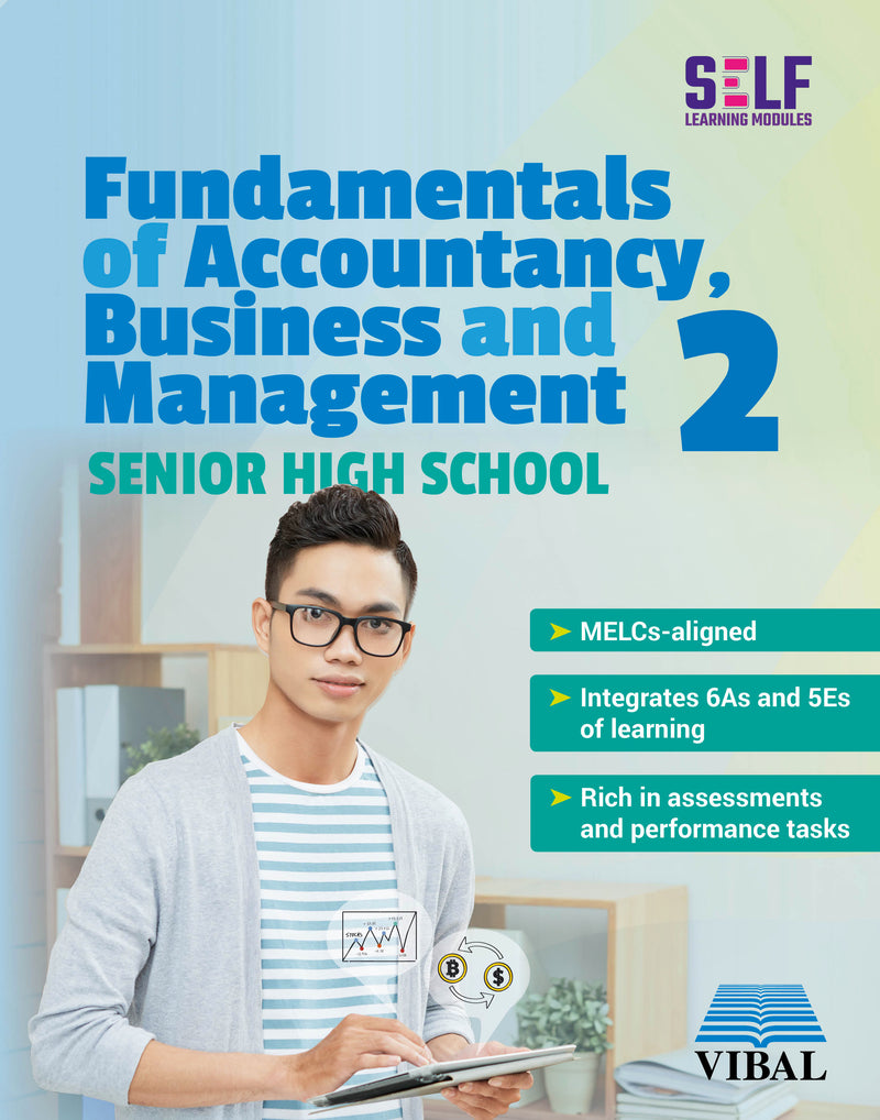 Self-Learning Modules: Fundamentals of Accountancy , Business and Management 2