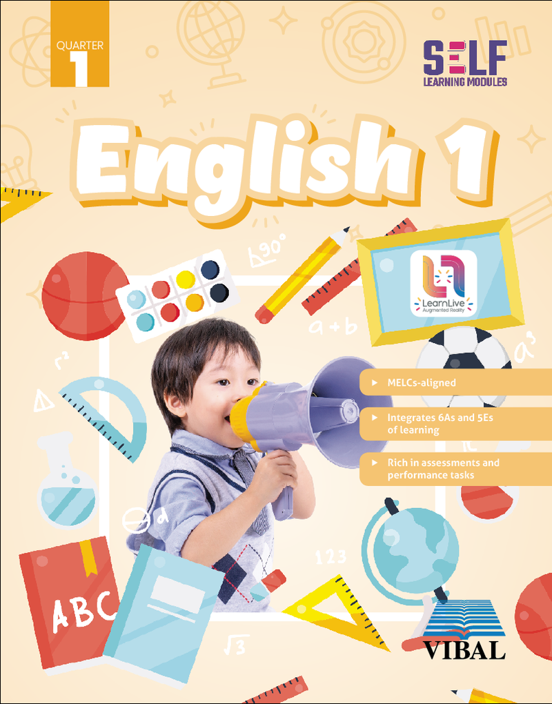 Self-Learning Modules: English Grade 1 (Quarter 1)