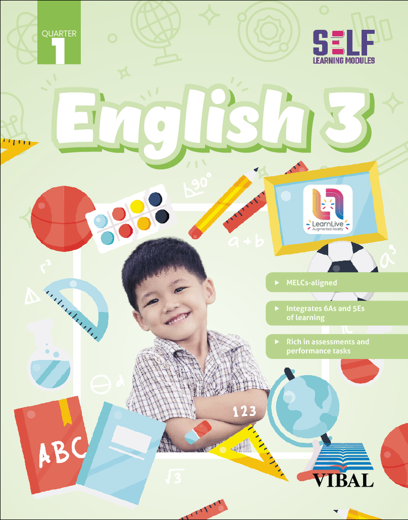 Self-Learning Modules: English Grade 3 (Quarter 1)