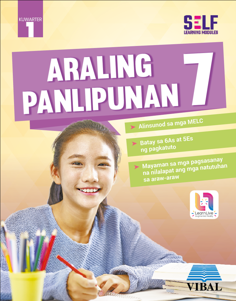 Self-Learning Modules: Araling Panlipunan Grade 7 (Quarter 1)