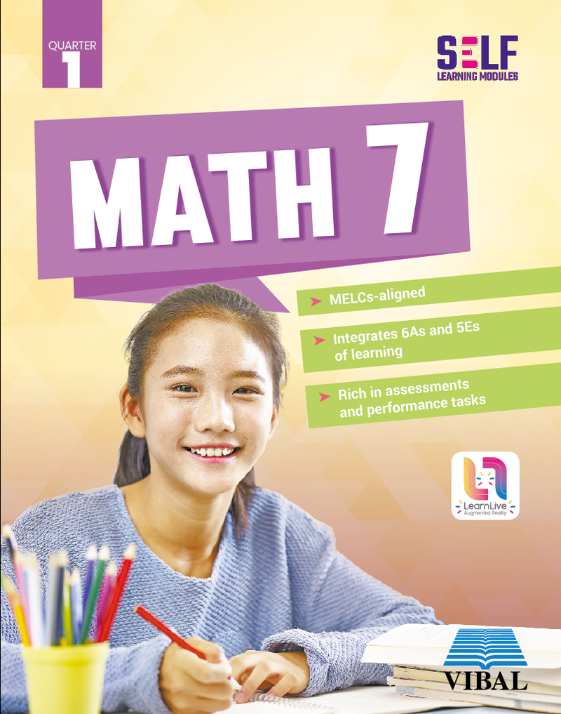 Self-Learning Modules: Math Grade 7 (Quarter 1)