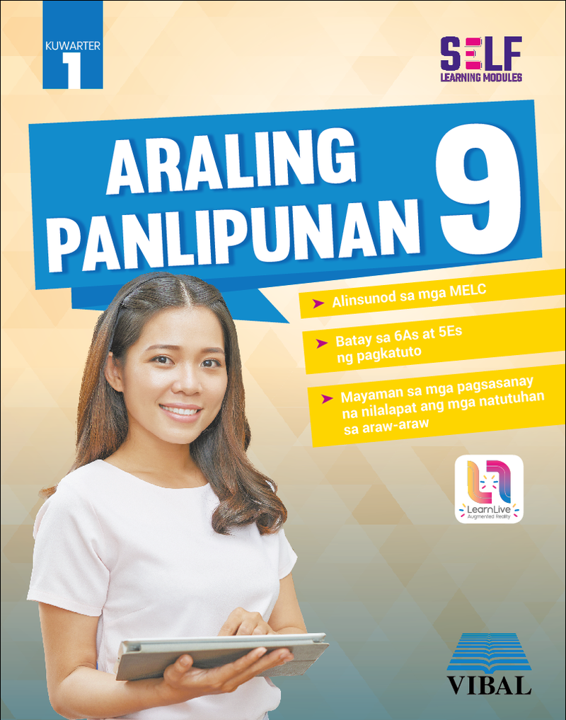 Self-Learning Modules: Araling Panlipunan Grade 9 (Quarter 1)