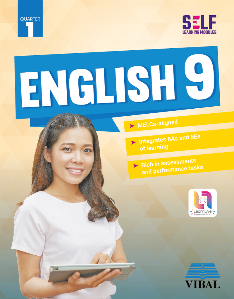 Self-Learning Modules: English Grade 9 (Quarter 1)