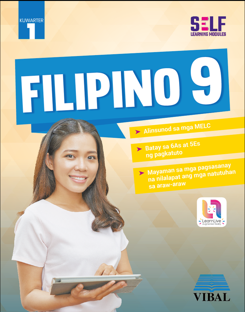 Self-Learning Modules: Filipino Grade 9 (Quarter 1)