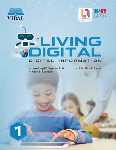 Living Digital Grade 1: Digital Information (ICT)