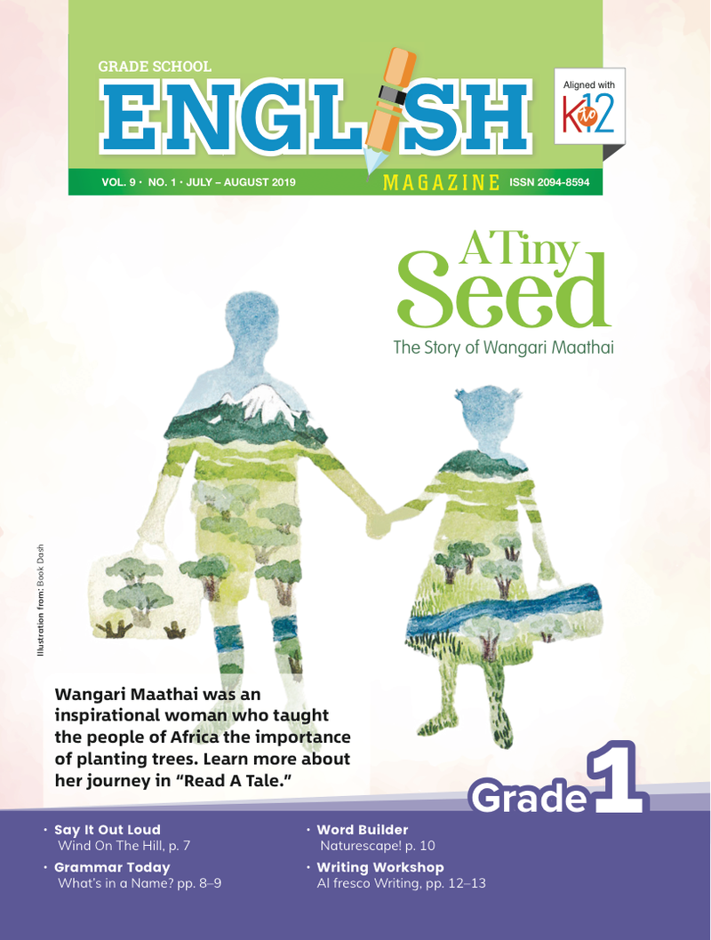 English Magazine Grade 1 (Issue 1 2019)