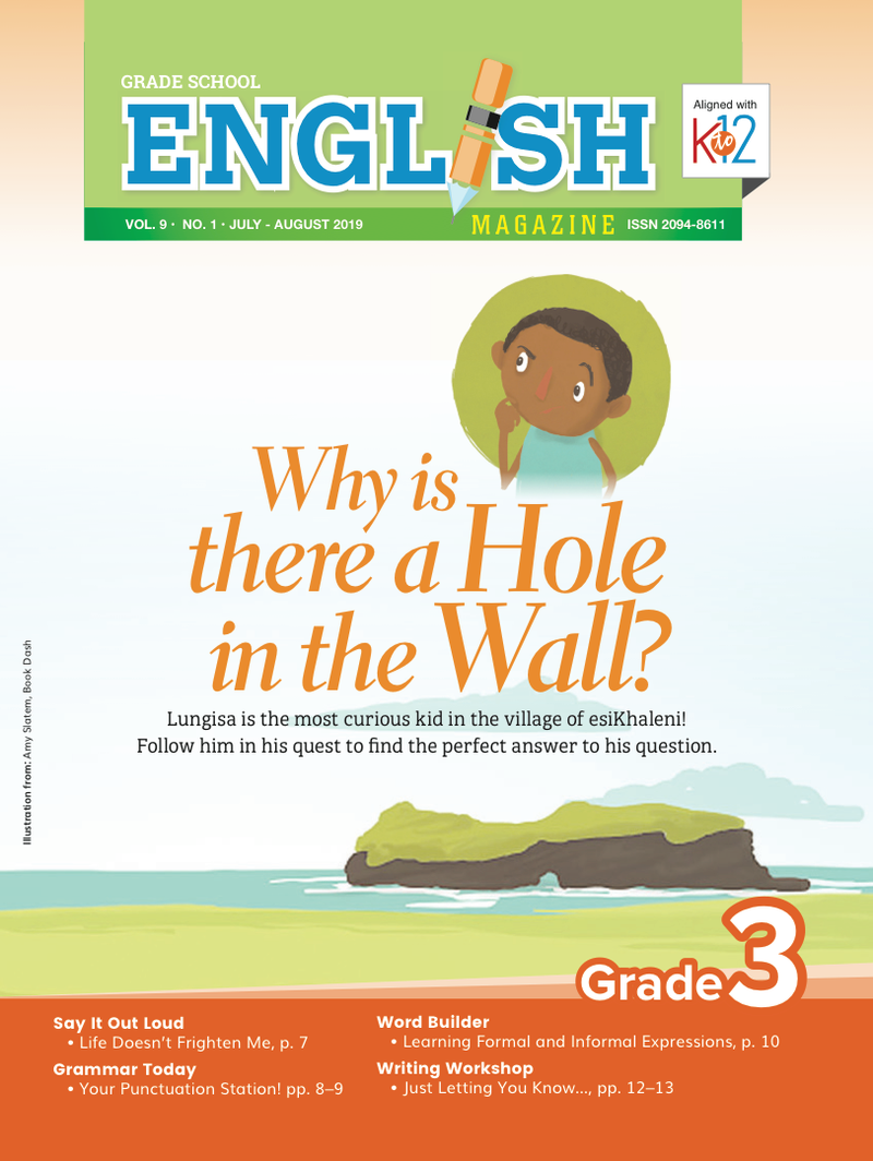 English Magazine Grade 3 (Issue 1 2019)