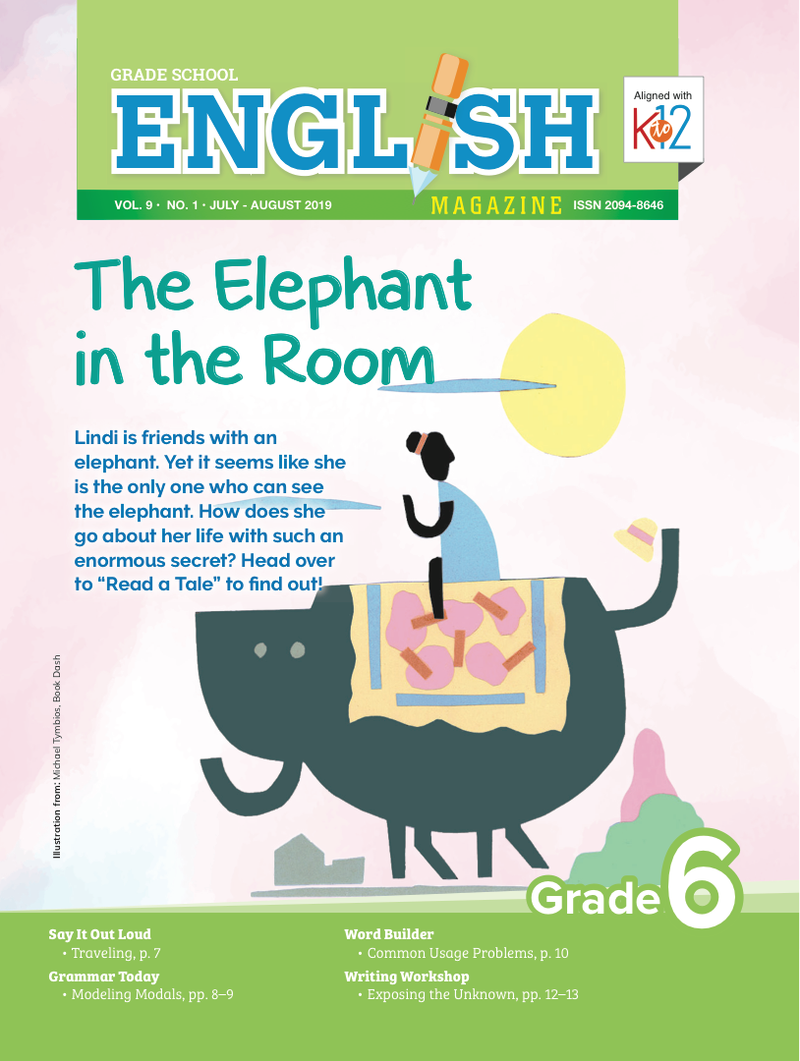 English Magazine Grade 6 (Issue 1 2019)