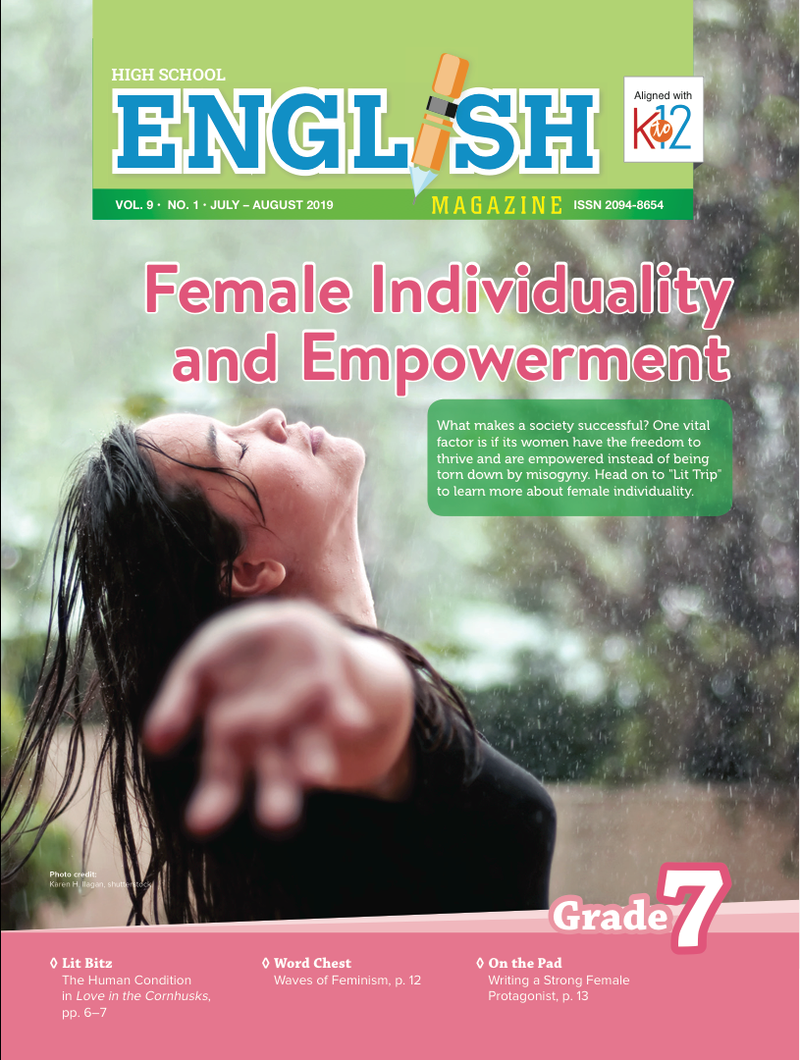 English Magazine Grade 7 (Issue 1 2019)