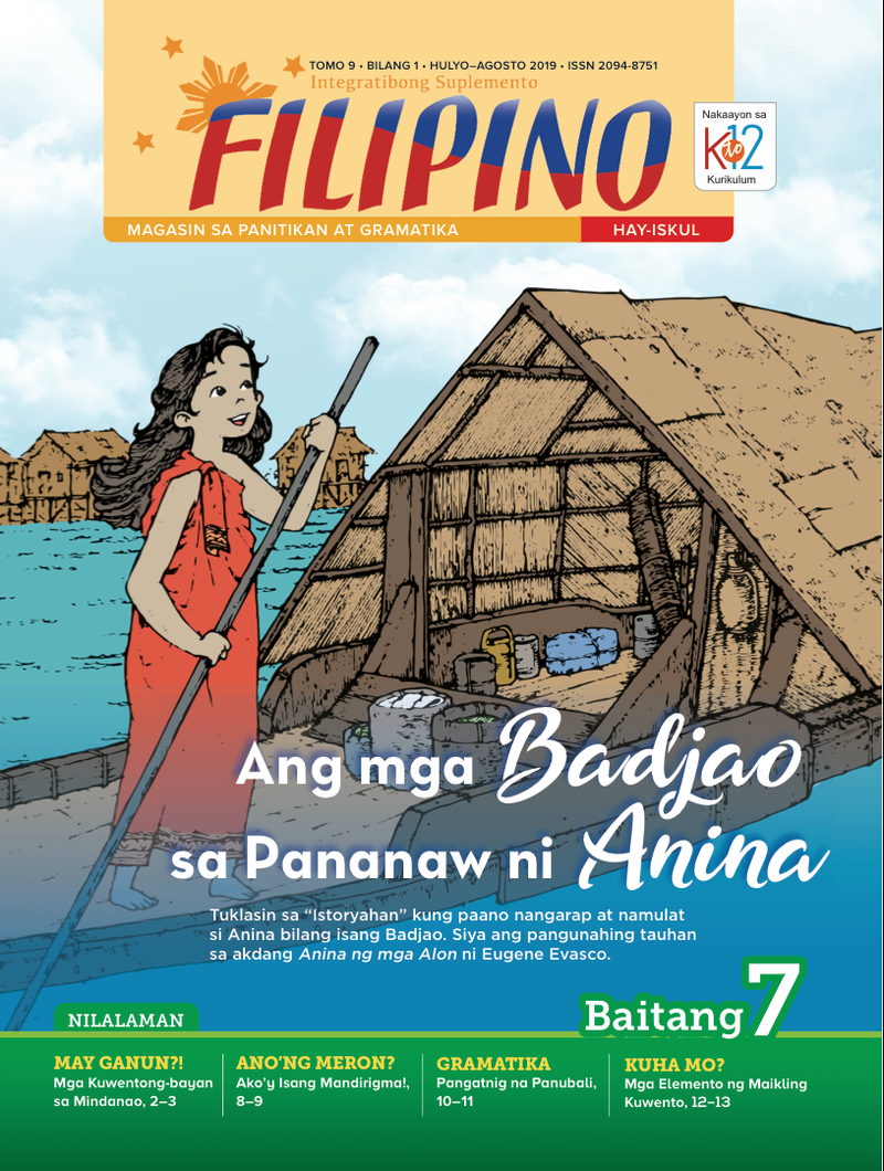 Filipino Magazine Grade 7 (Issue 1 2019)