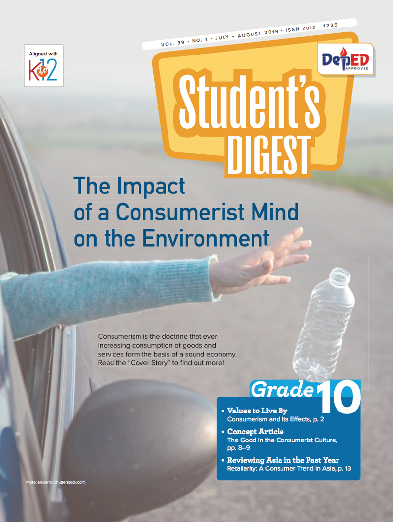 Student Digest Magazine Grade 10 (Issue 1 2019)