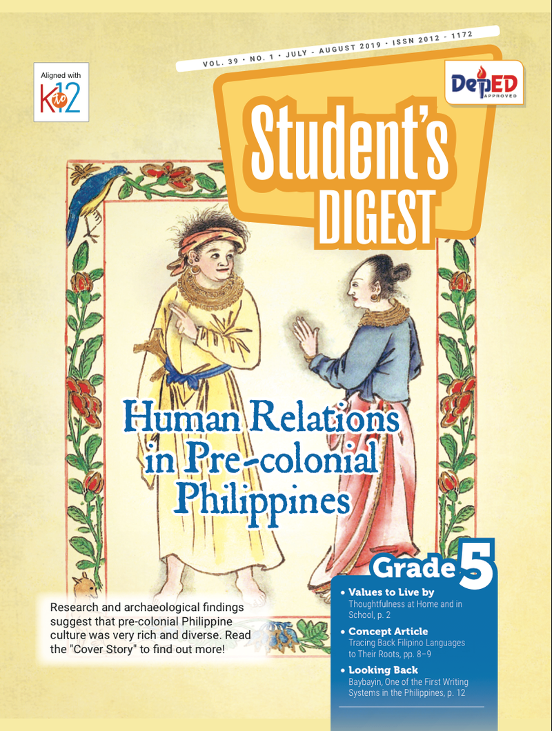 Student Digest Magazine Grade 5 (Issue 1 2019)
