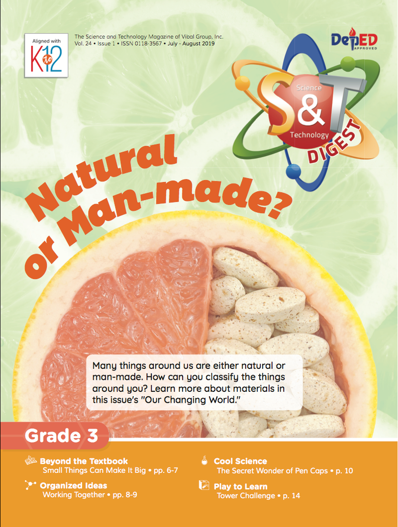 Science and Technology Magazine Grade 3 (Issue 1 2019)