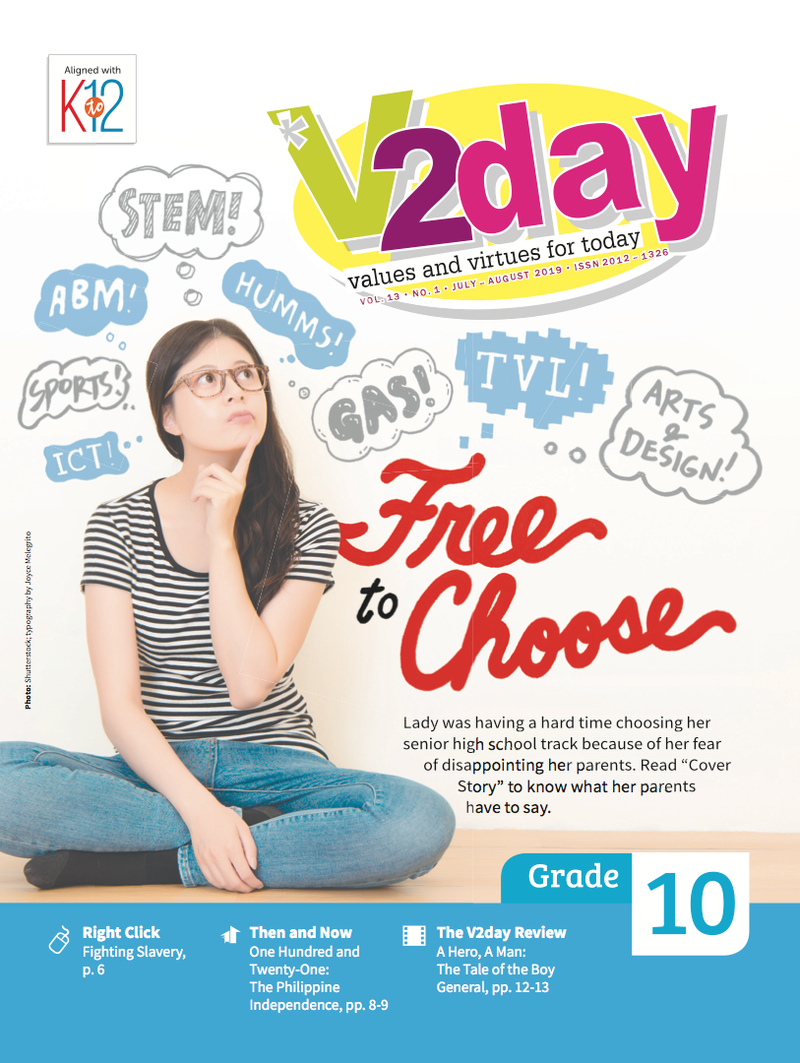 V2DAY Magazine Grade 10 (Issue 1 2019)