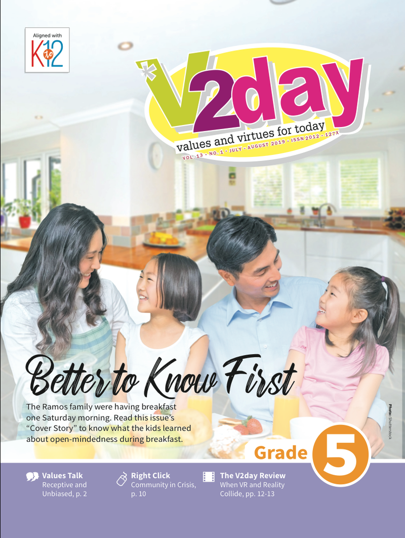 V2DAY Magazine Grade 5 (Issue 1 2019)