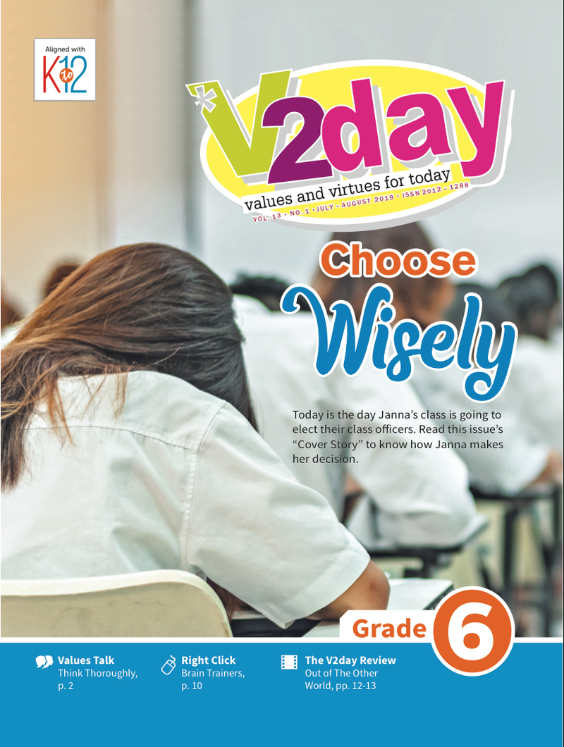 V2DAY Magazine Grade 6 (Issue 1 2019)